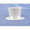 Mini Burlesque Top Hat - White